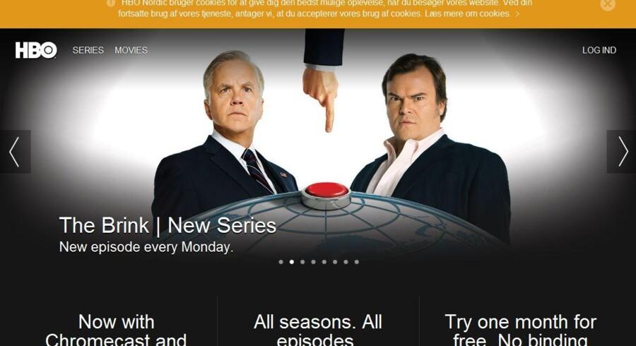 Netflix-konkurrenten HBO kommer nu ind - som tillægsabonnement - i TDCs TV-tjenester.