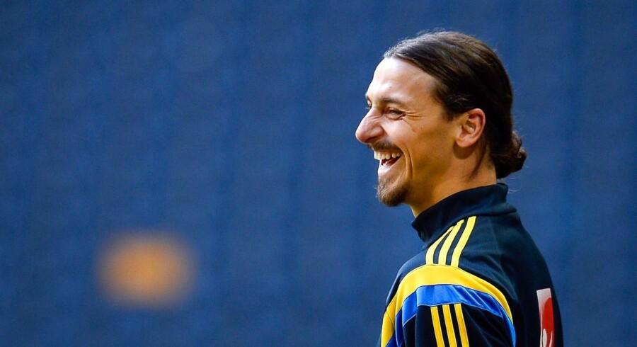 Der er god grund til at grine for Zlatan Ibrahimovic - han har nemlig tjent på den gode side af en milliard svenske kronor.