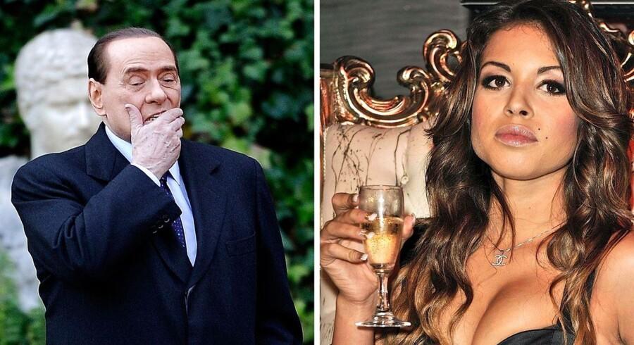Berlusconi skal ikke i fængsel for sit forhold til den unge prostituerede Kharima El Mahroug, kendt som »Ruby Hjerteknuser«.
