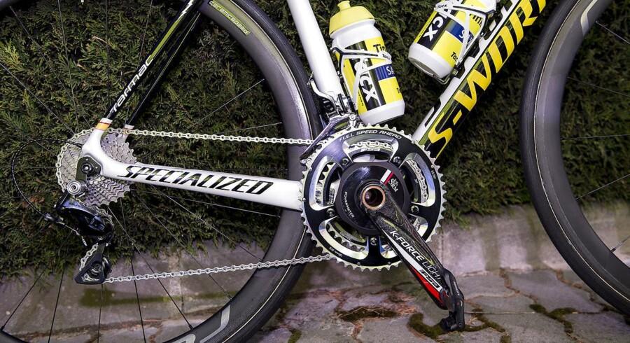 Den 39-årige mand er fra Herlev. Han kørte på en racercykel og var også udstyret med en cykelhjelm.