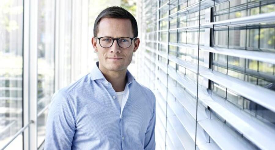 Jens Grønlund Nielsen overtager direktørstolen i det TDC-ejede mobilselskab Telmore, hvor Rasmus Busk har siddet de seneste halvandet år. Foto: TDC