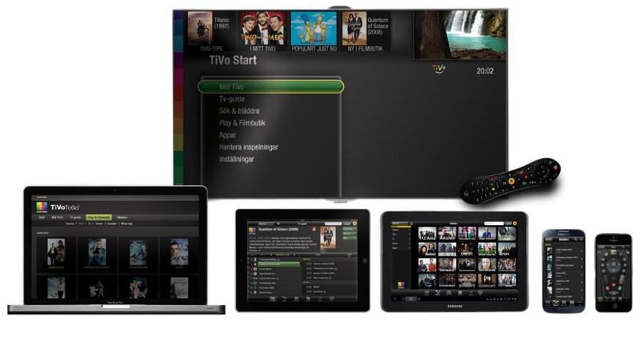 Ligesom YouSee i Danmark satser svenske Com Hem på at levere til alle slags skærme - og det vil være interessant, men også dyrt, for TDC. Foto: Com Hem