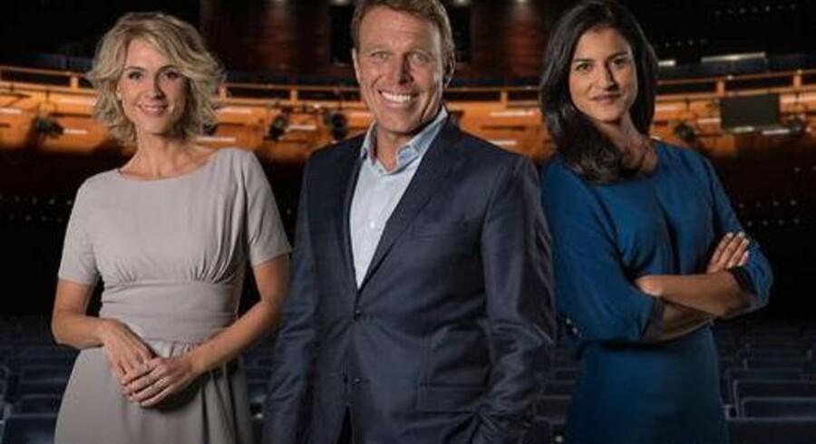 Årets værter på De Største Øjeblikke på TV 2 bliver Cecilie Frøkjær, Divya Das og Mikkel Beha Erichsen