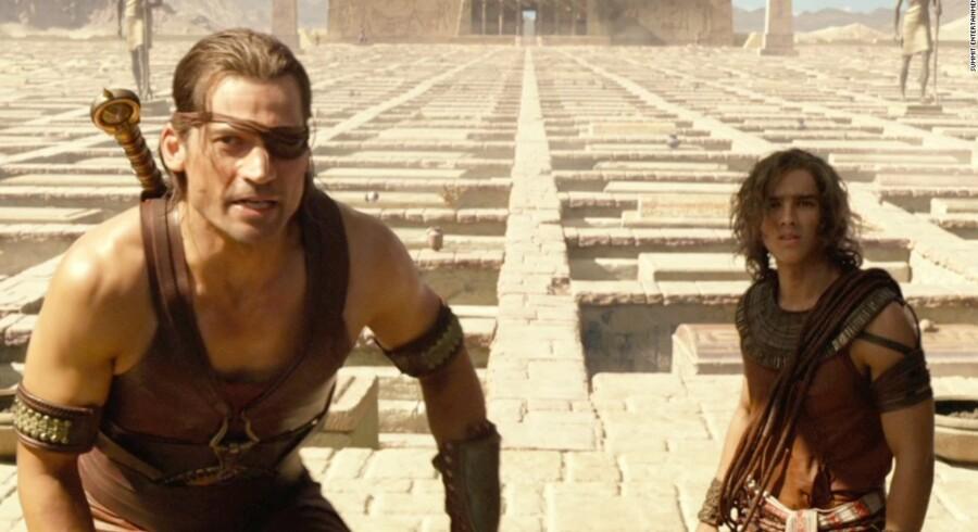 Amerikanerne kan nu se film som »Gods of Egypt« hjemme i stuen på premieredagen - men det koster.