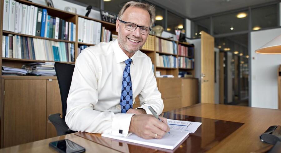 Jyske Bank-direktør Anders Dam forsøger at kapre de Totalkredit-kunder, der er blevet præsenteret for en stor prisstigning.