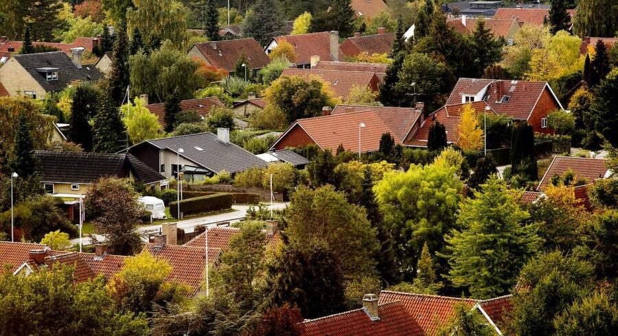 ARKIVFOTO: huse i Lyngby Sorgenfri. (Foto: Linda Kastrup/Scanpix 2016)
