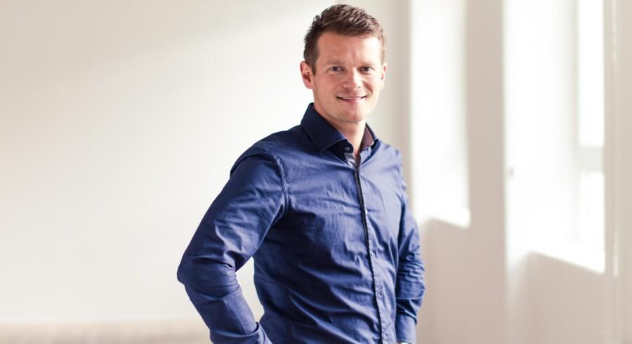Serieiværksætter Mads Peter Veiby har måtte ændre sine planer for spilnu.dk.