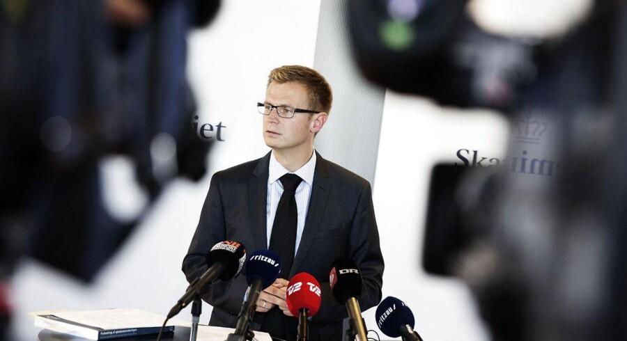 Skatteminister Benny Engelbrecht er ikke imponeret over Venstres stort anlagte jobpakke.