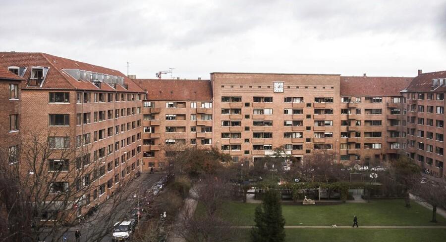 Andelsforeningen Hostrups Have blev her i december begæret konkurs.