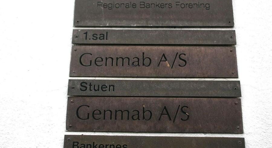 Biotekvirksomheden Genmab.