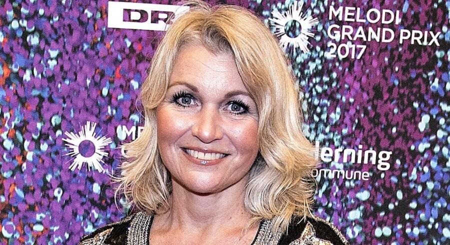 Gry Johansen-Meilstrup fik en 17.-plads til Eurovision i 1983 med Kloden drejer. Scanpix/Henning Bagger