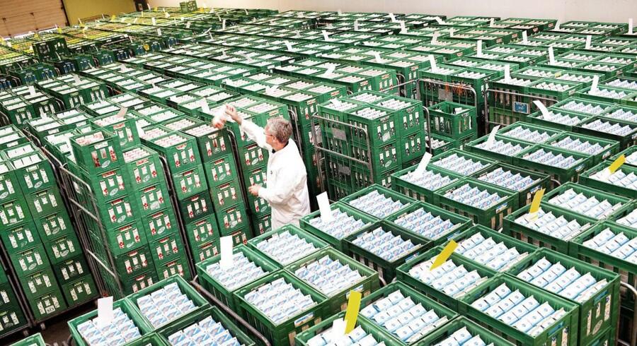 Arkivfoto: Efterspørgslen på Arla-produkter er større end udbuddet.