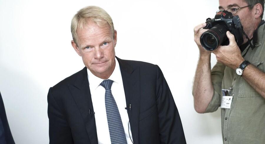 Lundbecks nye topchef, Kåre Schultz, præsenterer sit første regnskab som direktør i medicinaIkoncernen.