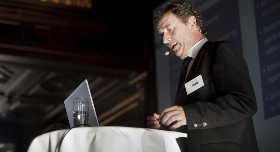 TDCs bestyrelsesformand, Vagn Sørensen (her fotograferet på en konference), har også købt aktier i sit teleselskab. Arkivfoto: Malte Kristiansen, Scanpix