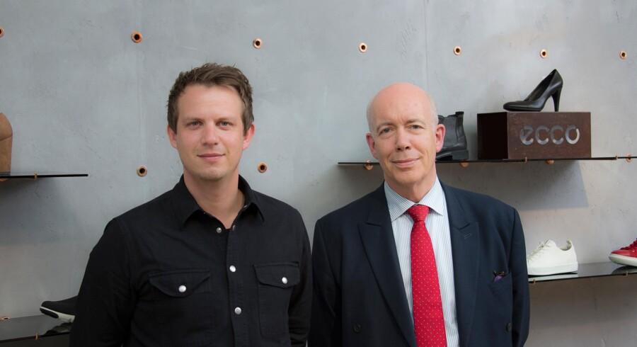 André Kasprzak og Tom Behrens-Sørensen