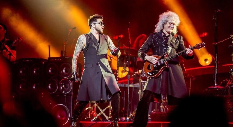 Koncert med Queen & Adam Lambert i Royal Arena.. (Foto: Nikolai Linares/Scanpix 2017)