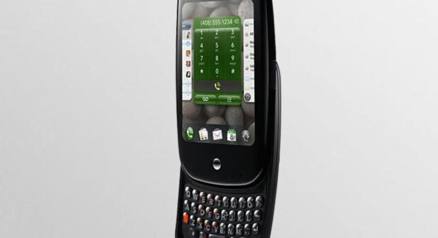 Pre-telefonen er en af de få maskiner, der nåede at udkomme med det nye WebOS. Nu vil Palms nye ejere, HP, lancere tavle-PCer med styresystemet.