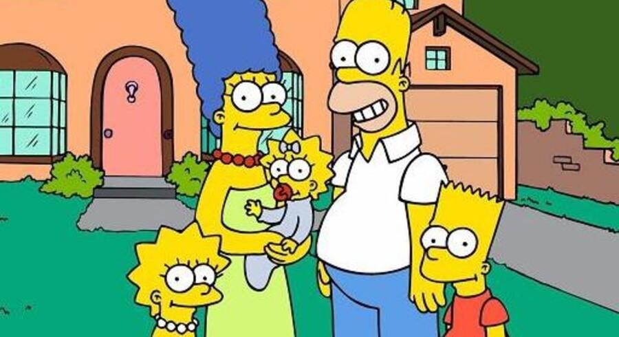 Tegnefilmsfamilien The Simsons er blevet censureret i Tyskland.