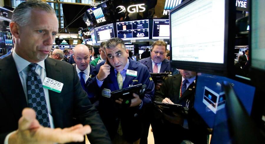 Arkivfoto. Fredag blev en stabil dag på rentemarkedet - specielt sammenlignet med torsdag, hvor den tiårige rente hoppede massivt.