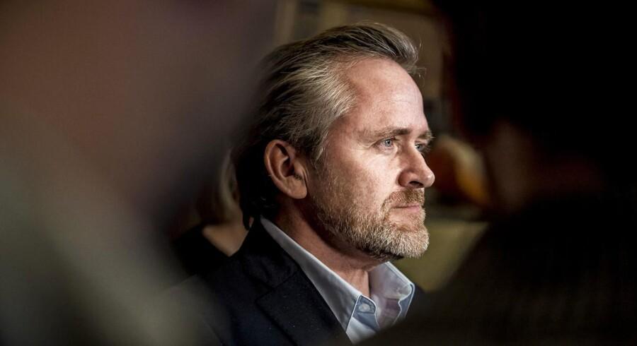Trods intern kritik har Samuelsen ingen planer om at gå af, hverken som partileder eller udenrigsminister. (Foto: Mads Claus Rasmussen/Scanpix 2018)