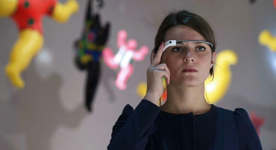 Googles brille, »Glass,« kommer ikke til salg på markedet foreløbigt.