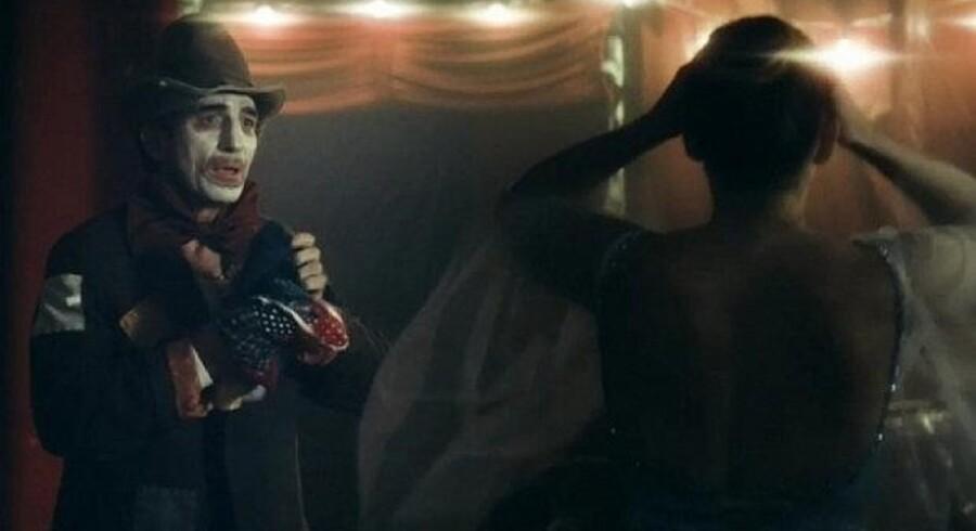 Interfloras bittersøde filmfortællinger i serien »Circus Love« vandt fredag prisen som årets bedste danske reklamefilm. PR-foto
