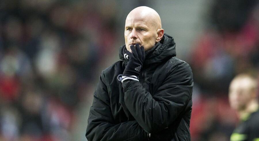 FCK-træner Ståle Solbakken ser gerne, at holdet kan bevare den gode defensiv i torsdagens Europa League-kamp hjemme mod Ajax.