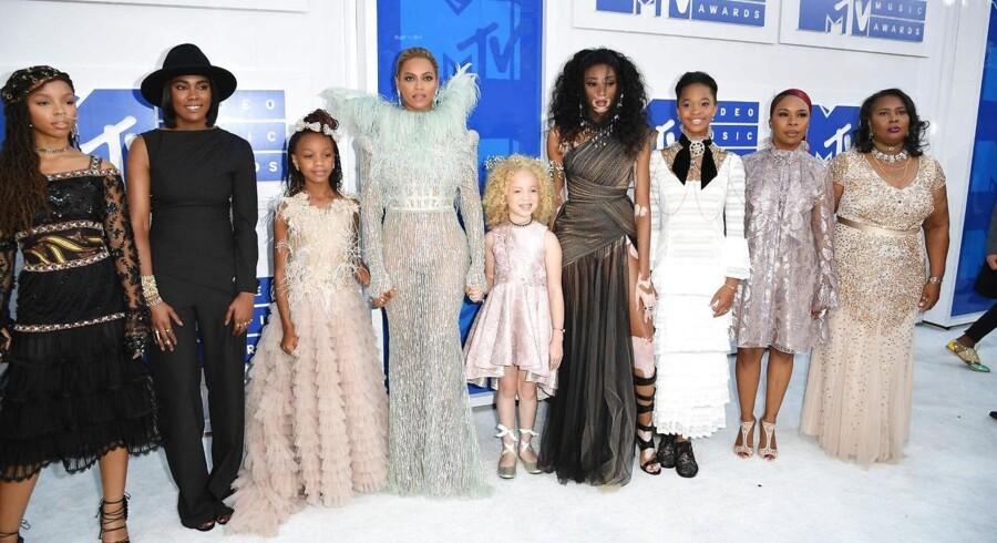 Beyoncemed gæster til MTV showet - blandt andet de fire mødre.