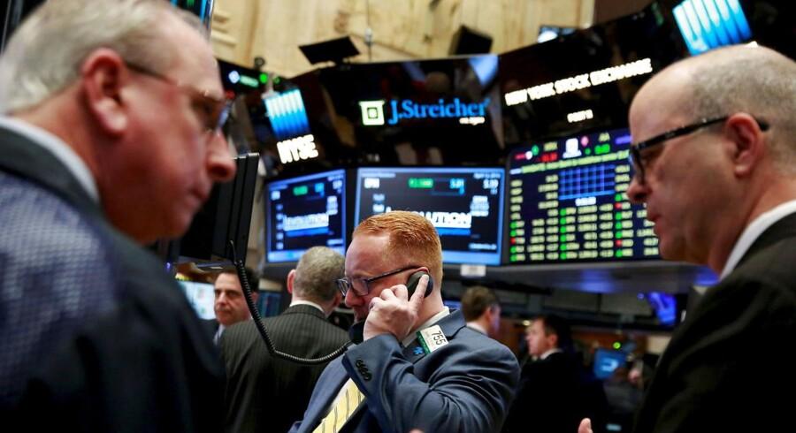 Oliepriserne fortsætter op torsdag morgen, hvor priserne ligger på det højeste niveau i næsten fem måneder. (REUTERS/Lucas Jackson/Files)