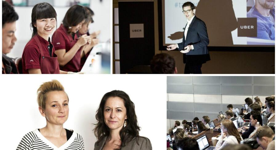 Foto: Øverst tv. PR-foto, øverst th. Nikolai Linares, nederst tv. Sofie Mathiassen, nederst th. Mathias Bojesen