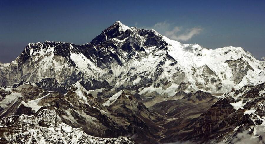 Mount Everest er verdens højeste bjerg, men hvor højt er det reelt?
