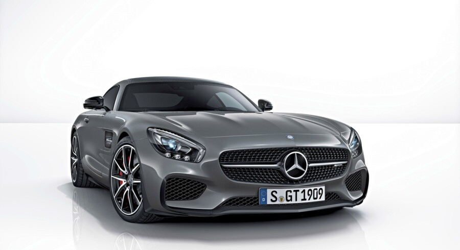 AMG GT Mercedes-AMG GT S Edition 1, Exterieur: Selenitgrau ; Mercedes-AMG GT S Edition 1, exterior: selenit grey;