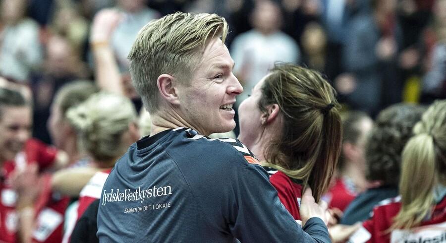 Team Esbjergs træner, Jesper Jensen.