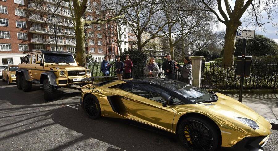 Foto fra Knightsbridge i London.