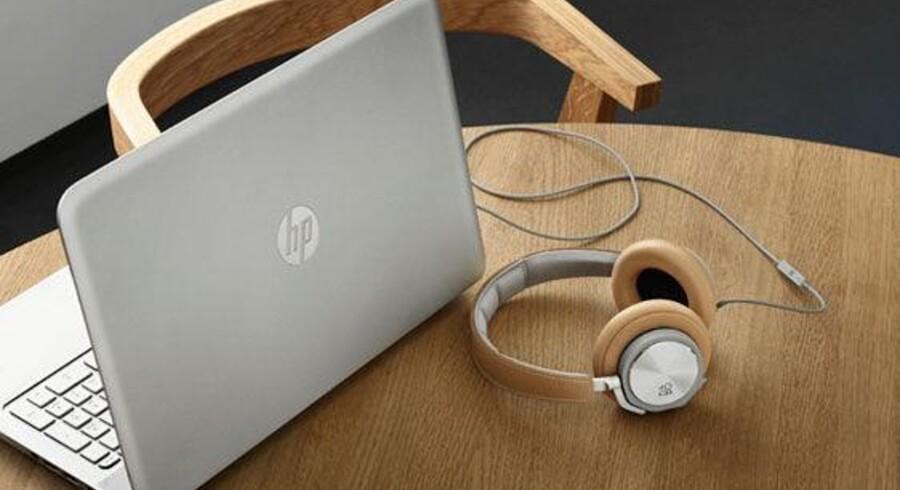 HP vil bruge B&Os lydsystemer i en række af sine PCer og desuden sælge B&O-udstyr. Foto: HP