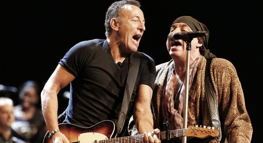 Bruce Springsteen med E-Street Bands - rygtes til Danmark til sommer.
