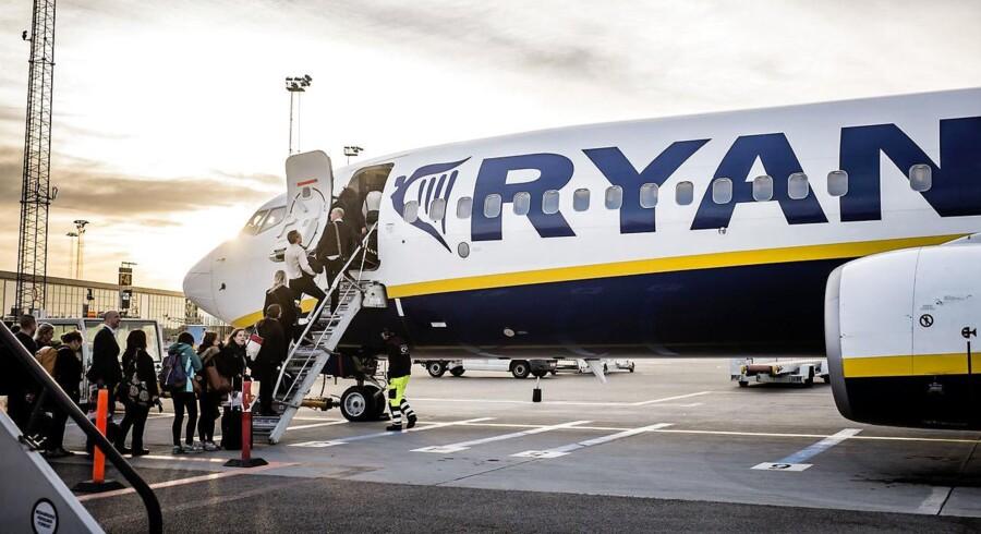 Bølgen af terrorangreb og katastrofer med passagerfly i og omkring Europa er begyndt at indhente regionens rejsebranche. (Foto: Thomas Lekfeldt/Scanpix 2015)