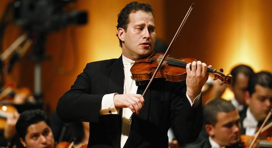 Violinisten Nikolaj Znaider var dybt berørt af drabet på Dan Uzan og betænkte sig derfor ikke på at sige ja til at medvirke i mindekoncerten, da han blev spurgt. Foto: Scanpix