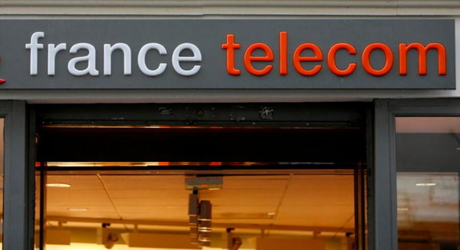 France Telecom har tilsyneladende ikke opgivet sine nordiske drømme. Foto: Lucas Dolega, EPA/Scanpix