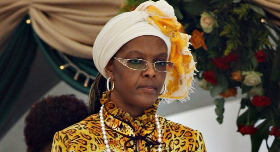 ARKIVFOTO: Grace Mugabe.