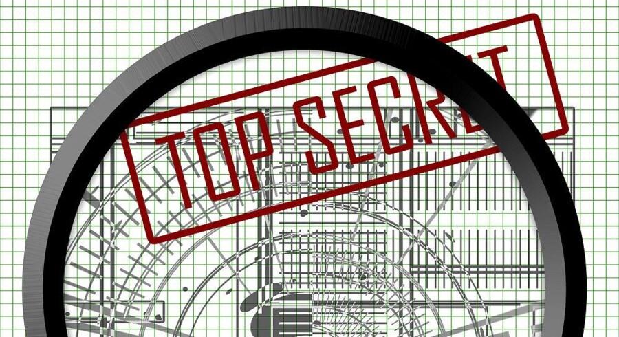 Fremmede lande bruger ofte efterretningstjenesterne til at spionere mod myndigheder og virksomheder for at få fortrolige oplysninger. Foto: Iris/Scanpix
