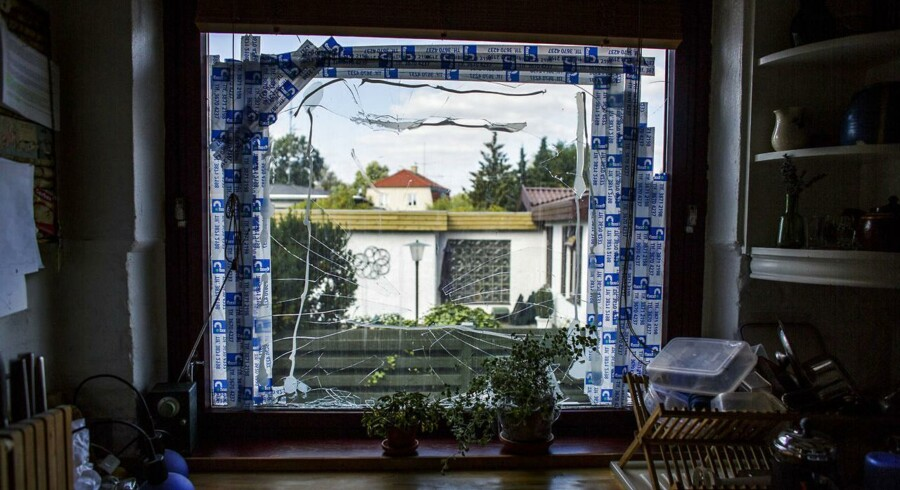 En rockerborg i Vanløse har skabt debat. Lars Georg Jensen på Tudskærvej, Vanløse, har fået smadret to vinduer og mener, at det er Bandidos-rockere, der er skyldige. Men rockerne flytter gerne ud.