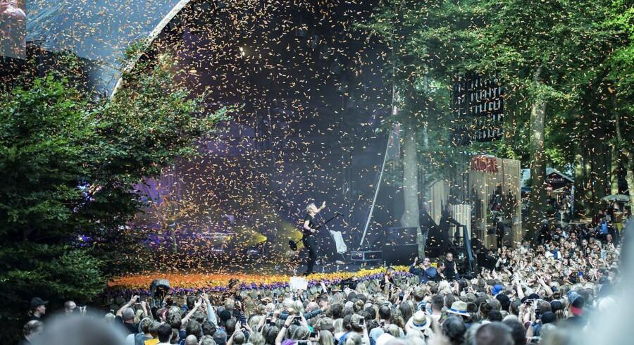 Næsten ukendt repertoire og dyrere billetpriser skræmmer tilsyneladende ikke folk fra Skanderborg-festival.