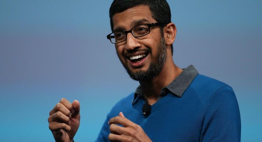Googles nye topchef Sundar Pichai
