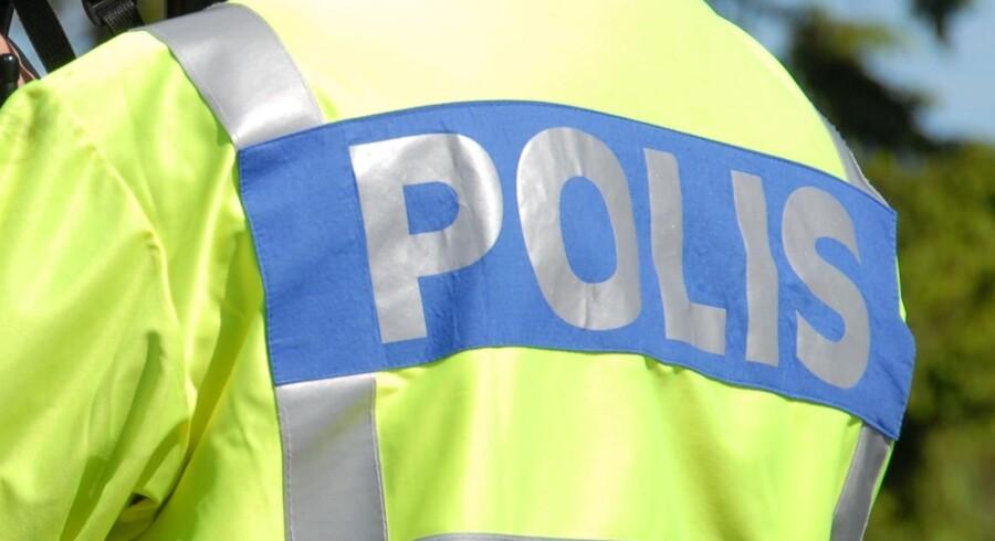 En svensk betjent er torsdag blevet angrebet med kniv i Stockholm. Free/Colourbox