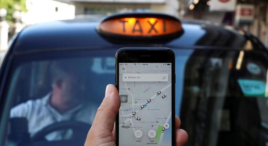 Den britiske transportmyndighed Transport for London (TFL) havde taget licensen fra Uber.