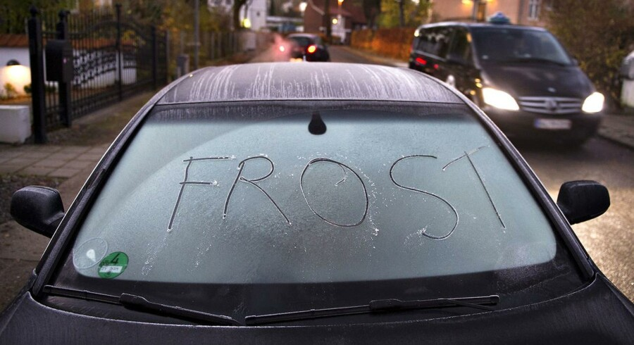 Det bliver rigtig koldt natten til fredag.