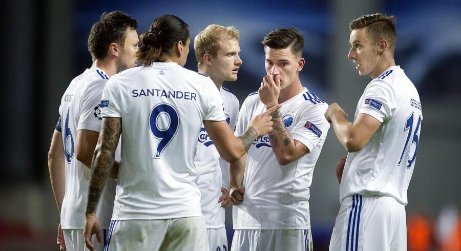 FC København havde foretrukket at være en del af gruppespillet i Champions League, men det glippede, da holdet onsdag tabte sammenlagt til Qarabag.