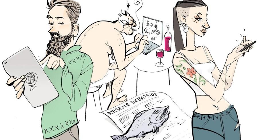 »Debat på nettet er en mangeartet størrelse, så at reducere den til en kommentarkloak, hvor gale mænd i underbukser sidder og hælder galde ned i deres tastaturer, er i mine øjne for unuanceret,« siger Rasmus Rønlev, ph.d. i retorik og kommunikationsforsker på Københavns Universitet.