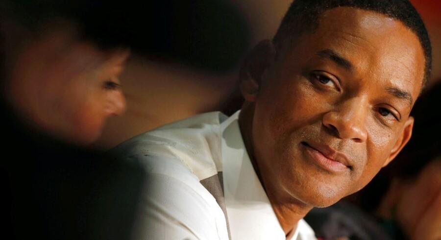 Will Smith, der er medlem af juryen i Cannes, leverede et forsvar for Netflix, der ellers møder modstand under den igangværende festival. REUTERS/Regis Duvignau